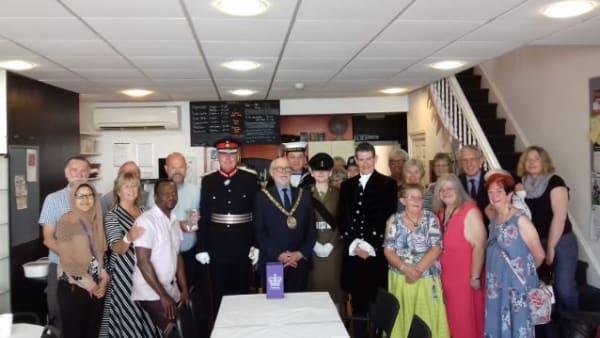 Queens Award for voluntary service